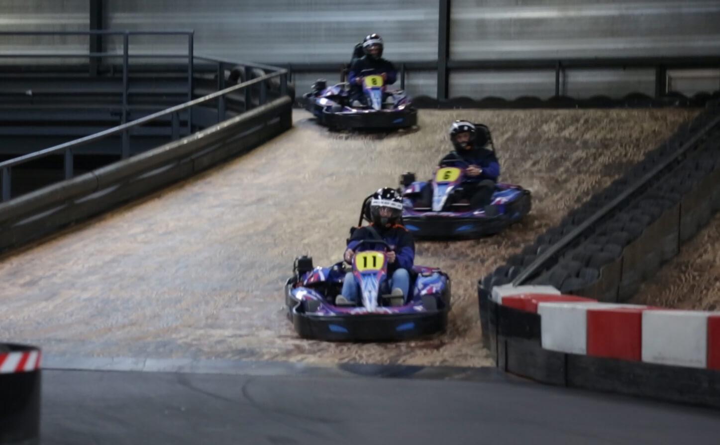 De Grootste Indoor Kartbaan Van Europa Van Der Ende